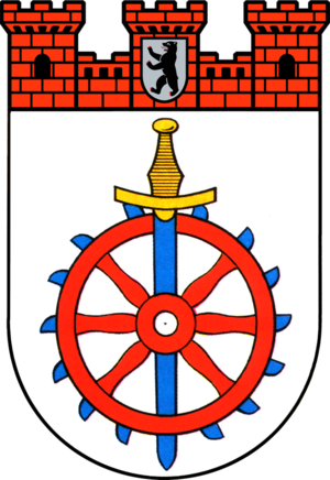 Weissensee (Berlin) - Image: Coat of arms de be weissensee 1992