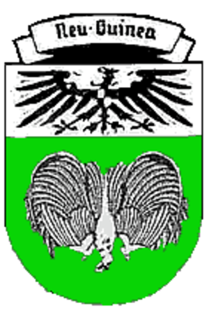 Emblem of Papua New Guinea - Image: Coat of arms of German New Guinea