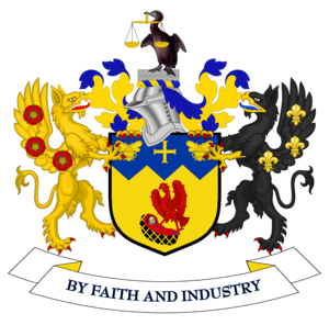 Metropolitan Borough of Knowsley - Image: Coat of arms of Knowsley Metropolitan Borough Council