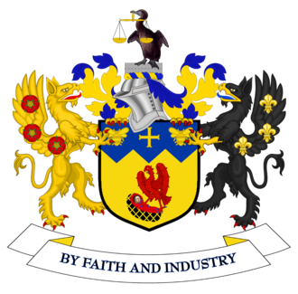 Metropolitan Borough of Knowsley - Image: Coat of arms of Knowsley Metropolitan Borough Council