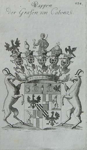 Johann Karl Philipp von Cobenzl - Coat of arms of the Cobenzl counts