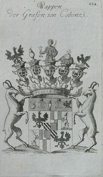 Johann Karl Philipp von Cobenzl - Coat of arms of the Cobenzl counts