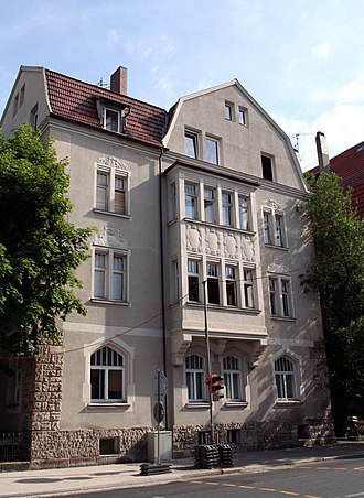 The Marriage of Maria Braun - Mohrenstraße 1 in Coburg was one of the locations where The Marriage of Maria Braun was shot.