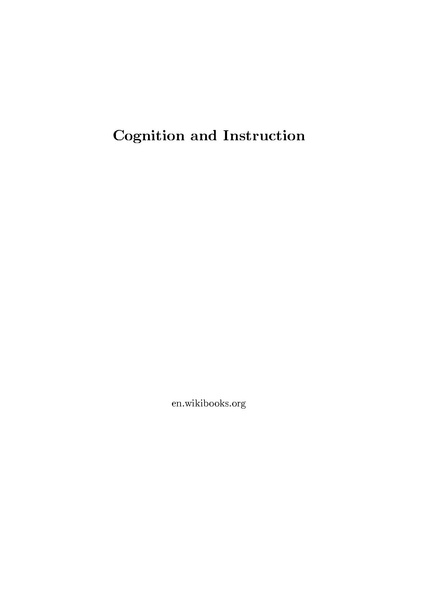 File:Cognition and Instruction.pdf