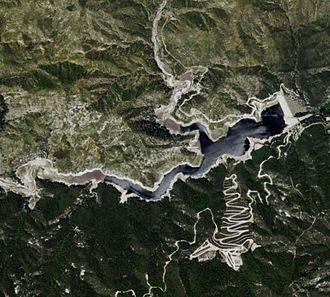 Cogswell Dam - Satellite view