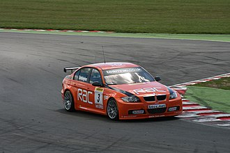 West Surrey Racing - Colin Turkington driving the WSR-run BMW at Snetterton.