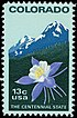 Colorado Statehood stamp