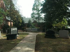 Columbia Gardens Cemetery - Memorials on display at Columbia Gardens Memorials