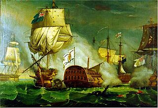 Spain and the American Revolutionary War 18th-century war between UK and Spain