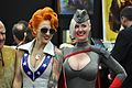 Comic Con 2013 - Lady Dare and Red Son Power Girl (9333199489).jpg