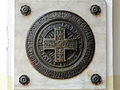 Commemorative plaque of the Saint Francis church in Warsaw - 05.jpg