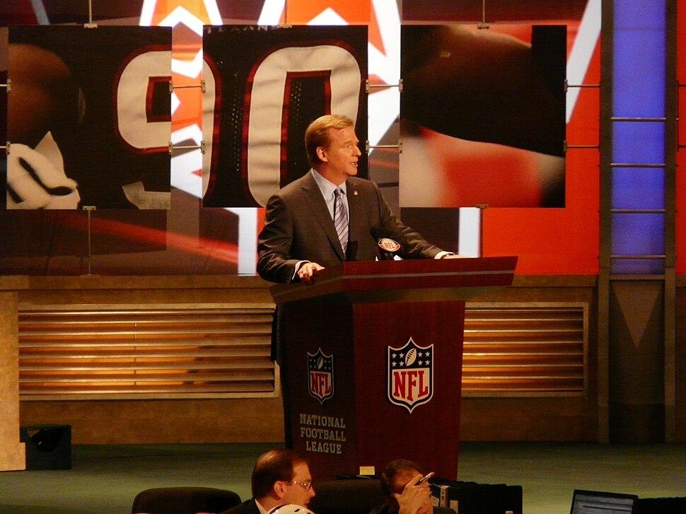 Commissioner Goodell 2009 NFL Draft
