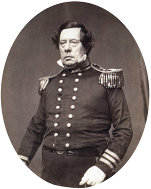 Matthew C. Perry - Perry in the 1850s, in a photograph by Mathew Brady.