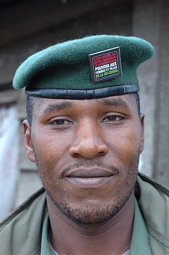 2008 Nord-Kivu campaign - A CNDP rebel