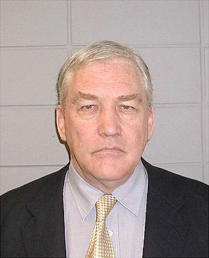 Mug shot of Conrad Black.