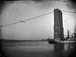 Construction of Brooklyn Bridge, ca. 1872-1887. (5832930865)