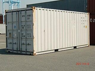 Twenty-foot equivalent unit container unit