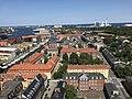 Copenhagen, Denmark seen from the tower of the Church of Our Saviour (45627888361).jpg
