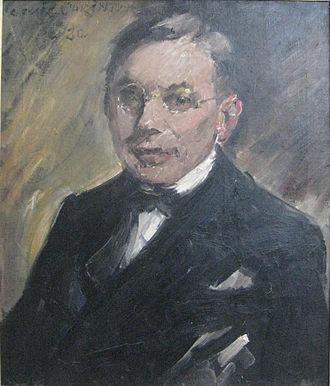 """Ernst Oppler - Lovis Corinth: """"Portrait Ernst Oppler"""""""