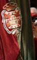 Corpus Christi procession - flag of Granada.png