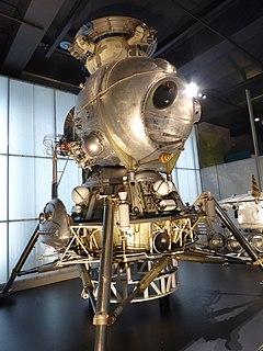 Soyuz Kontakt Docking hardware of the Soviet manned lunar spacecraft program