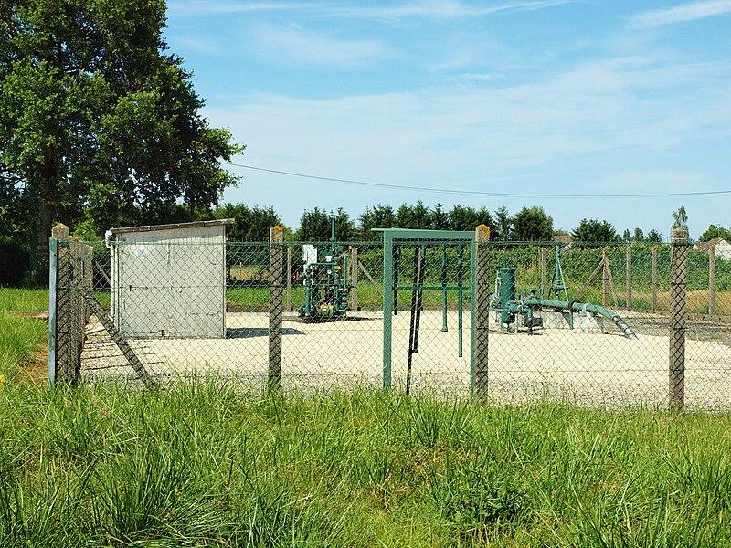 Poste de gaz n°1326 à Cosne-Cours-sur-Loire (Nièvre, France)