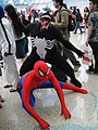 Cosplay of Spider-man and Venom, Anime Expo 2010 (4836636951).jpg