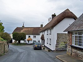 Straat in South Tawton
