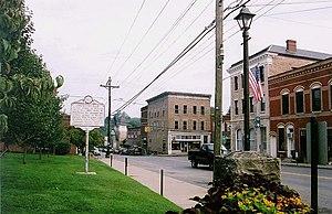 Fayetteville, West Virginia - Court Street in downtown Fayetteville
