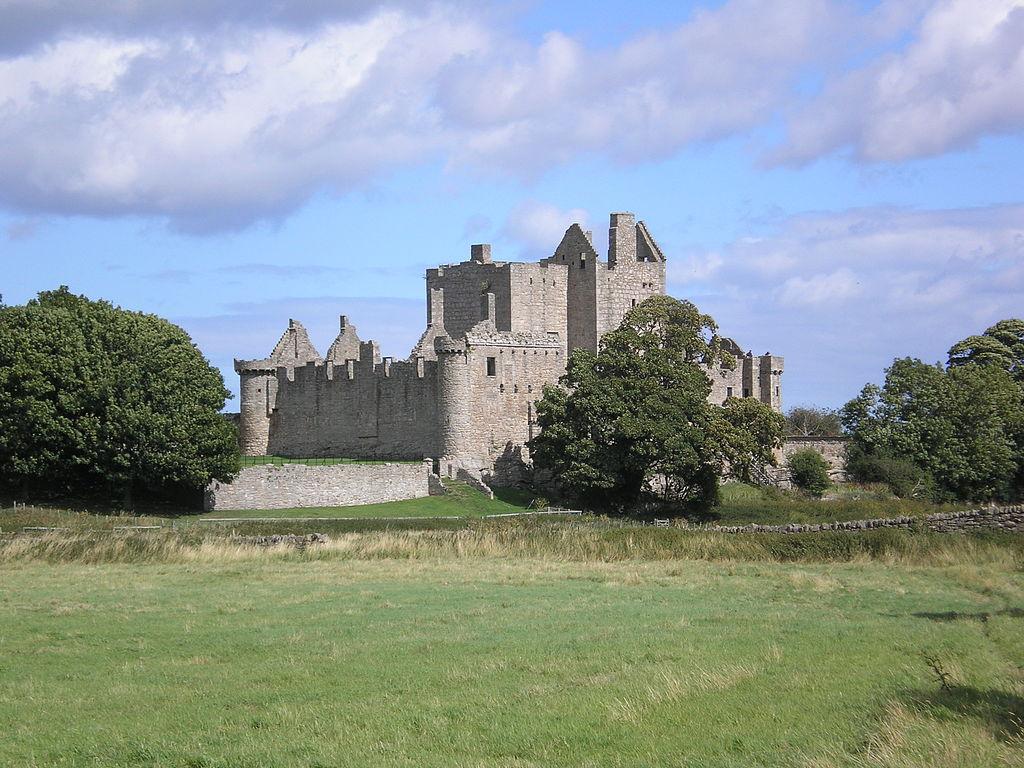 Le château de Craigmillar près d'Edimbourg - Photo de Marjolein1