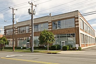 Crane Company Building (North Carolina) - Crane Company Building (Former), September 2014