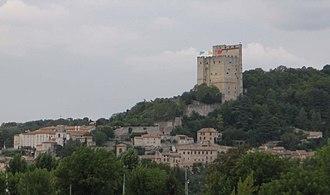 Crest, Drôme - Image: Crest 08 2006 092