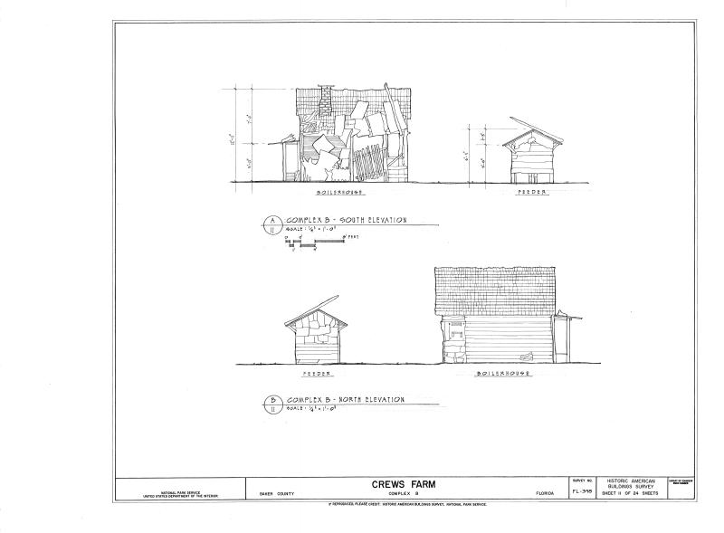 File:Crews Farm, Macclenny, Baker County, FL HABS FL-398 (sheet 11 of 24).png