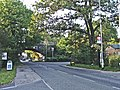 Crews Hill, Enfield, looking west towards the railway bridge - geograph.org.uk - 68560.jpg