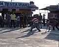 Cricket on top of Gun Hill, Mussoorie, Uttarakhand.jpg
