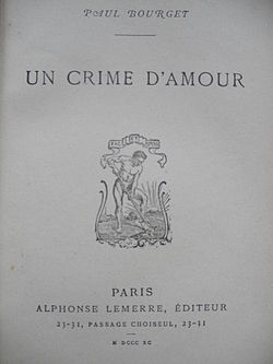 Image illustrative de l'article Un crime d'amour