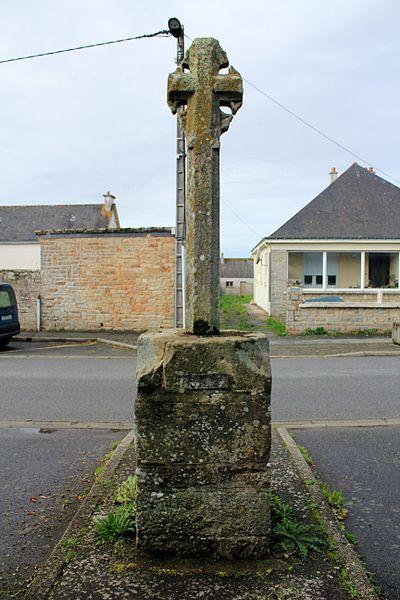 Croix du chemin de Coëtcandec: face est