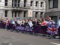 Crowd at London 2012 Women's Marathon.jpg