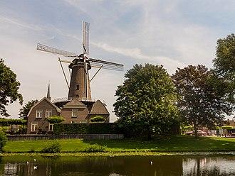 Culemborg - Image: Culemborg, molen de Hoop RM451862 foto 3 2015 08 06 13.14