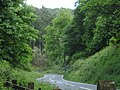 Cycle crossing above Fetter Hill - May 2011 - panoramio.jpg
