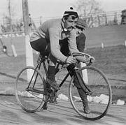 Cyclist L Georget LOC 04379