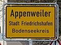 D-BW-Friedrichshafen-Appenweiler - Ortsschild.JPG