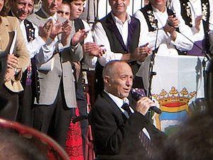Francisco Fernández Ochoa - Fernández Ochoa in October 2006