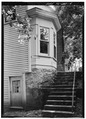 DETAILED PERSPECTIVE OF BAY WINDOW (EAST SIDE) - Dover Hotel, Petty Street, Dover, Stewart County, TN HABS TENN,81-DOVR,1-4.tif