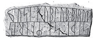 Skern Runestone - Image: DR 81 B, Skern 2