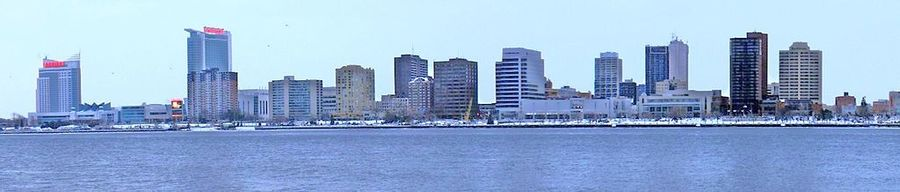 City of Windsor as Seen From Detroit