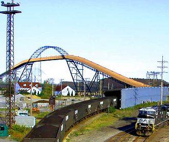 Ashtabula, Ohio - Railyard in the port of Ashtabula