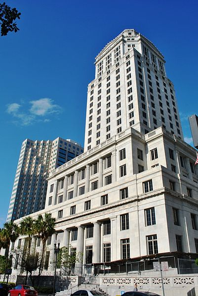 Dade County Courthouse in Miami, Florida