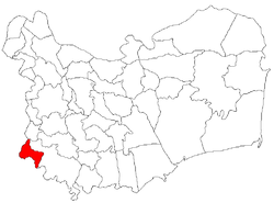 Location of Dăeni