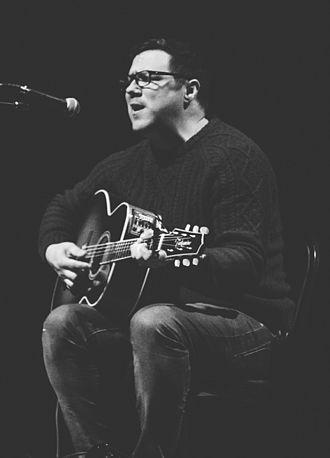 Damien Jurado - Jurado performing at the Peabody Opera House in St. Louis, Missouri in February 2015